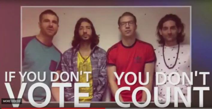 new ads encourage citizens to go on a vote date